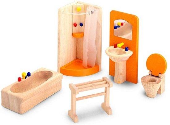 bol com  Pintoy Badkamer voor poppenhuis  Speelgoed