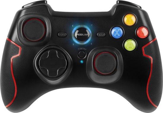 Speedlink, TORID Gamepad - Wireless (Zwart) (PC / PS3)