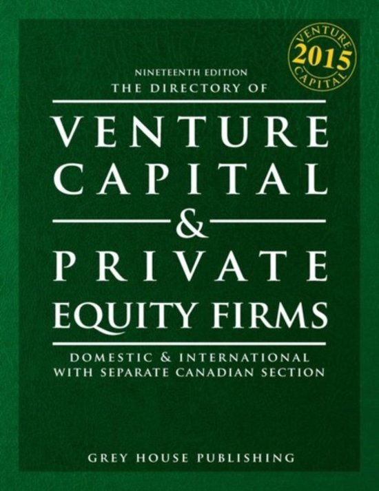 The Directory of Venture Capital & Private Equity Firms