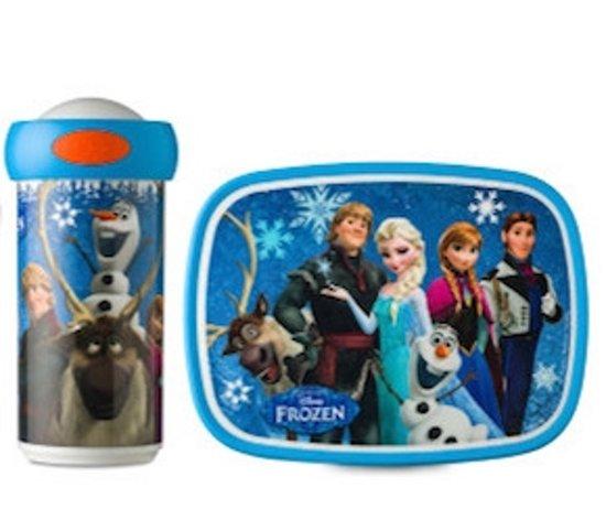 Frozen Lunchbox en Schoolbeker Mepal (SET)
