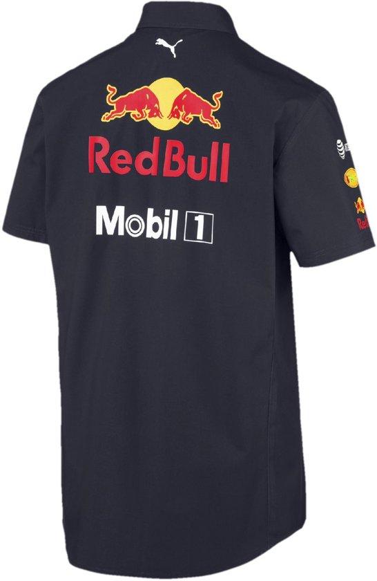 PUMA Red Bull Racing Team Shirt Shirt Heren - Night Sky