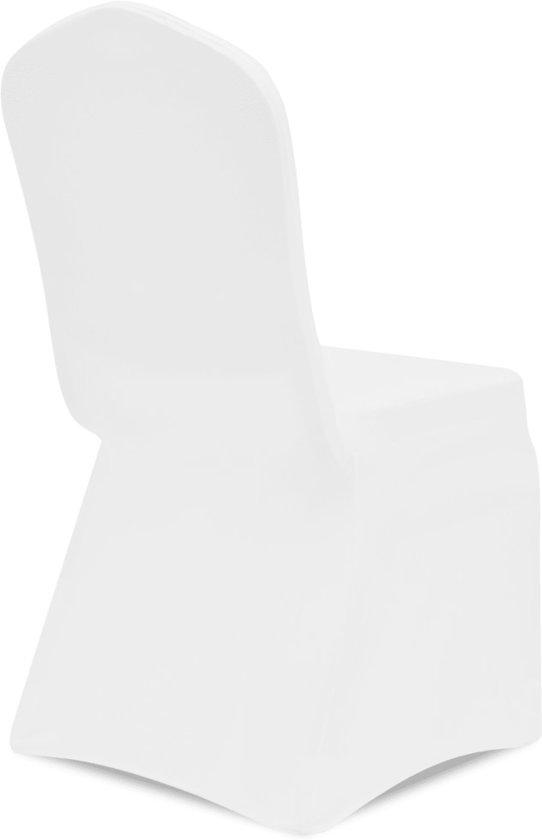 Nieuw bol.com | vidaXL Stoelhoes Stretch Wit (6 stuks) DG-84