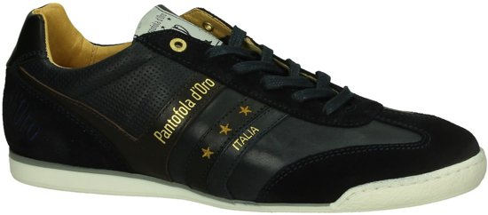 Pantofola d'Oro - Vasto Uomo Low  - Casual schoen veter - Heren - Maat 41 - Blauw - 29Y -Dress Blues