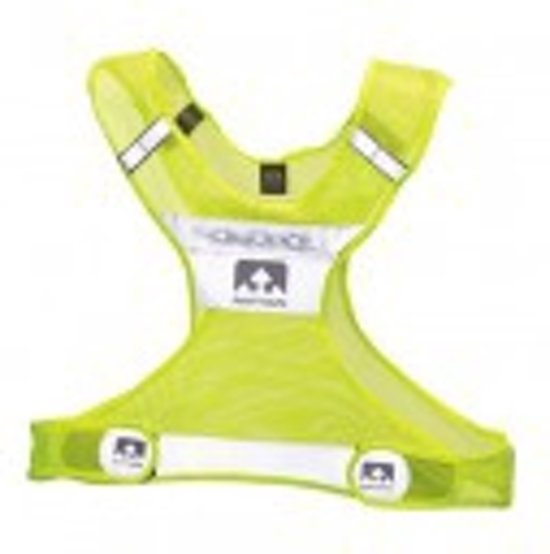 bol.com | Nathan LightStreak Vest S/M Safety Yellow - Reflectievest