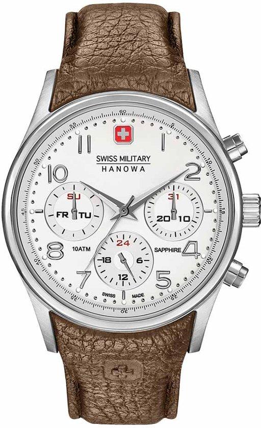 Swiss Military Hanowa Horloge Chrono saffierglas 06-4278.04.001.05