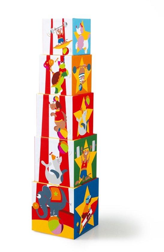 Thumbnail van een extra afbeelding van het spel STAPELTOREN Circus