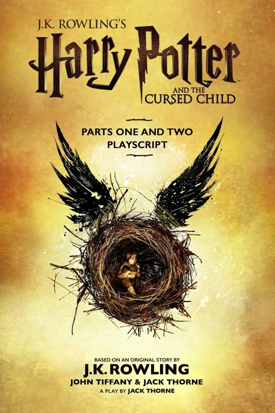 Boek cover Harry Potter - Harry Potter and the Cursed Child - Parts One and Two van J.K. Rowling (Onbekend)