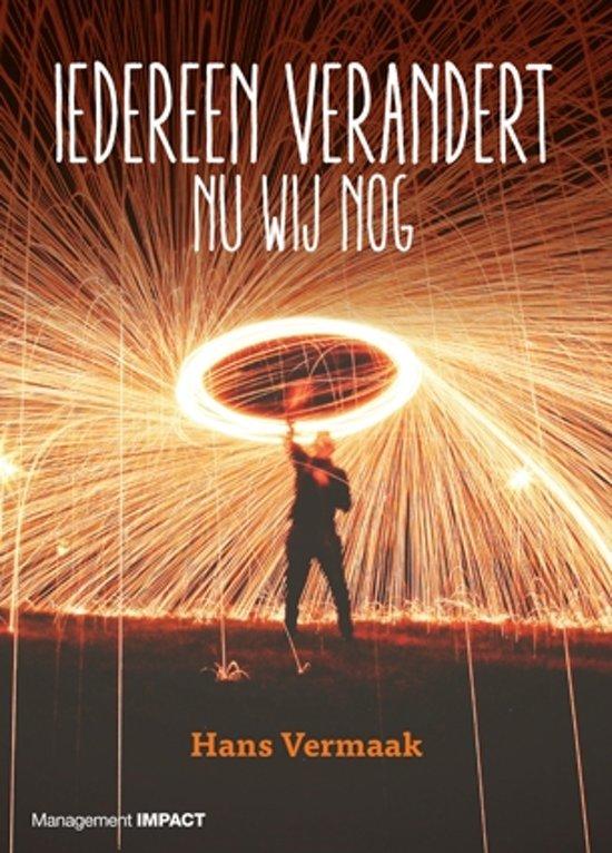 Boek cover Iedereen verandert van Hans Vermaak