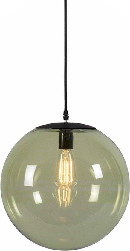 QAZQA Pallon 35 - Hanglamp - 1 lichts - H 1850 mm - groen