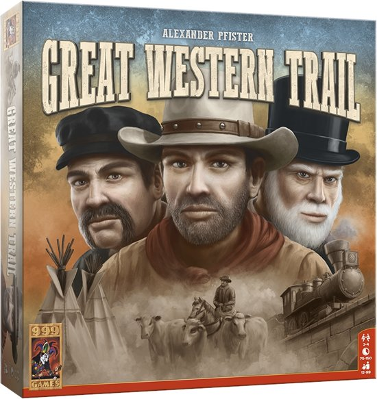 Great Western Trail Bordspel