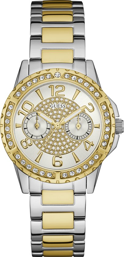 GUESS Watches -  W0705L4 -  Horloge -  Vrouwen -  RVS - Bicolour -  36  mm