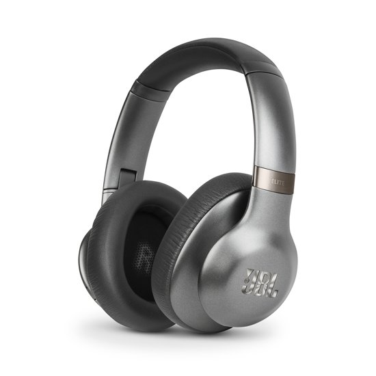 JBL Everest Elite 750NC - Draadloze over-ear koptelefoon met Noise Cancelling - Zwart