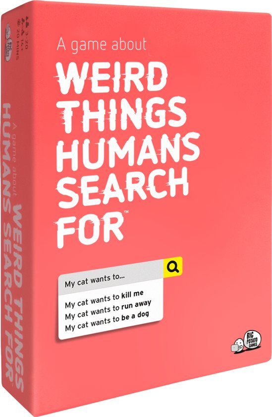 Weird Things Humans Search For Spel - Engelstalig