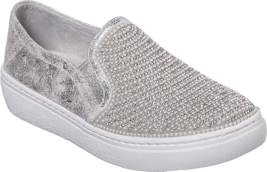 Diamond Skechers Silver 38 Wishes Goldie Instappers Dames Maat 8w5xTUqwH