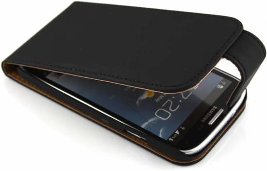 Boîtier Flip Noir Élégant Pour Les I9500 Samsung Galaxy RiPJFx8