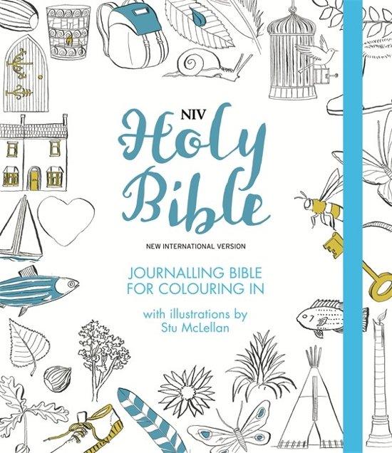 NIV Journalling Bible for Colouring In Boek PDF Online