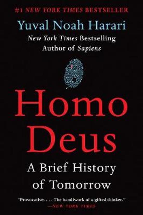 Boek cover Homo Deus van Yuval Noah Harari (Paperback)