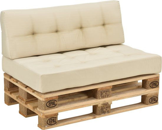 Pallet Bank Kussens : Hoe maak je een loungeset van pallets love and lifestyle