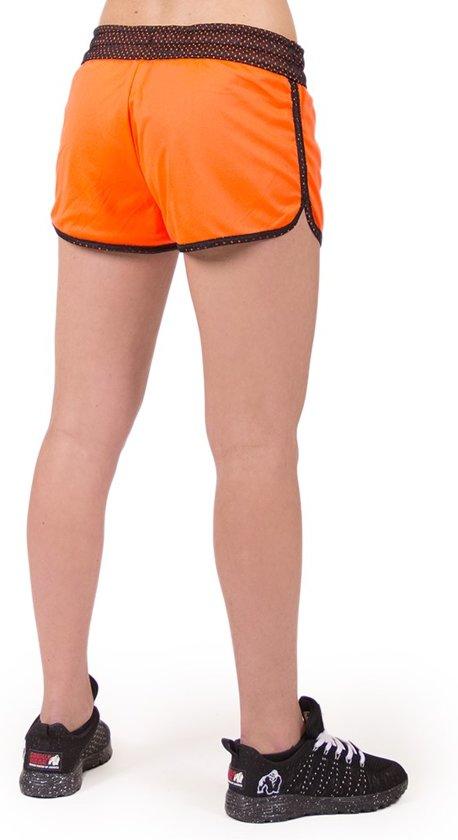 ShortsZwart Madison Wear oranje Gorilla Reversible M 6b7IyYfgv