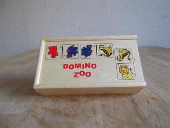 Domino spel dieren