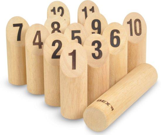 Bex Sport Original Numbers Kubb Rubberhout