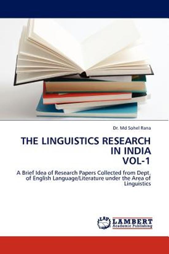 linguistics research