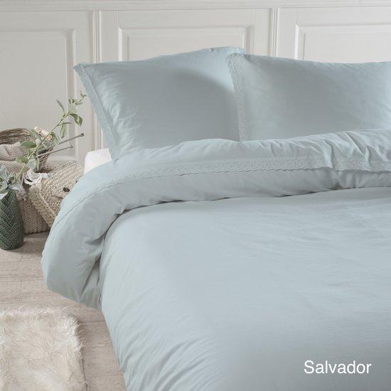Papillon Salvador - dekbedovertrek - lits-jumeaux - 240 x 200/220 - Groen