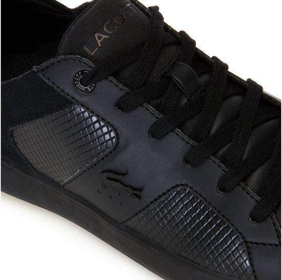 43 Maat Novas Lacoste Heren Sneakers 318 Zwart fx8YwP