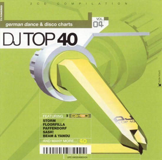 DJ Top 40, Vol. 4: German Dance & Disco Charts