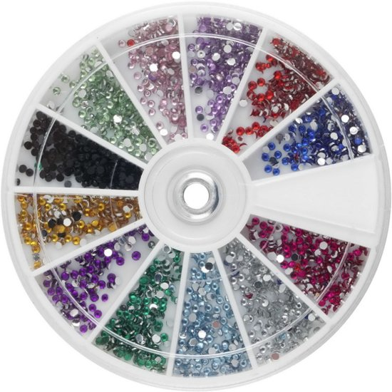 3D Nail Art Steentjes Set - Strass Nagel Hotfix Rhinestones - Nagel Decoratie