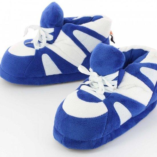 0ed3785d58c Sneaker pantoffels/sloffen voor volwassenen blauw/wit 39/41