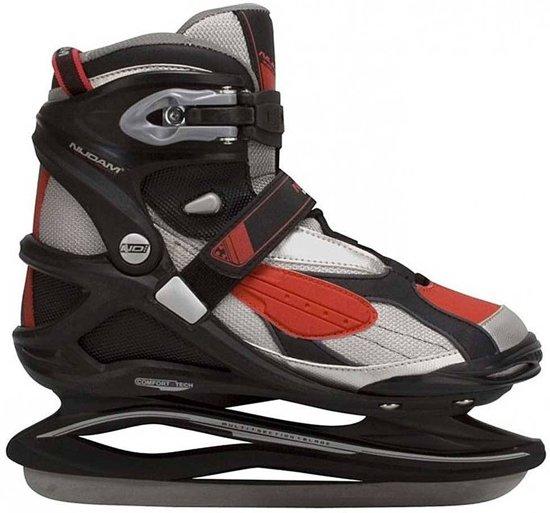 nieuw goedkoop specifiek aanbod waar te kopen Nijdam 3379 Pro Line IJshockeyschaats - Schaatsen - Mannen - Rood - Maat 41