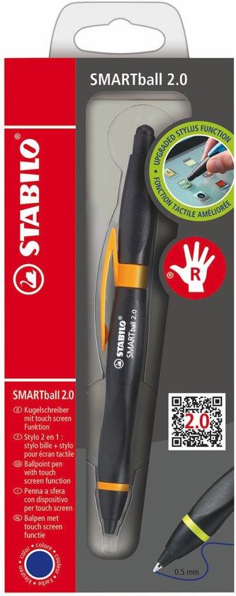 STABILO SMARTball 2.0 Rechtshandig - Zwart/Oranje