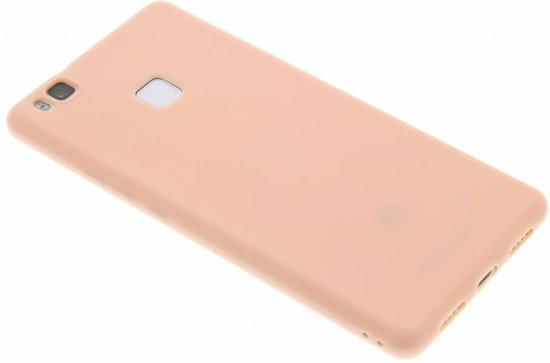 Poudre De Couleur Rose Cas De Tpu Pour Huawei P9 ZgC6X
