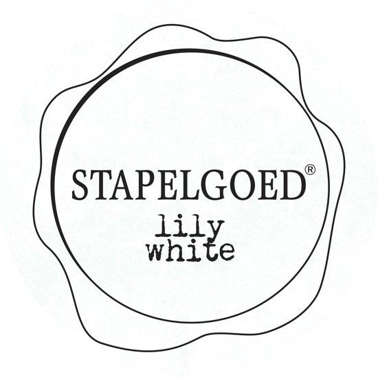 Stapelgoed - Matte Lak - Lily white - Wit - 1L