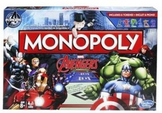 The Avengers: Monopoly