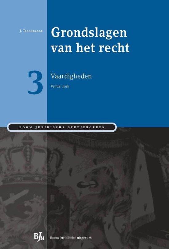 Boom Juridische studieboeken Grondslagen van het recht 3
