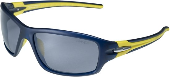 SINNER Ros SINTEC® Polarized - Sportbril - Blauw/Geel