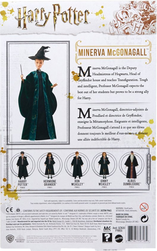Harry Potter Professor Minerva Anderling Pop - 30 cm