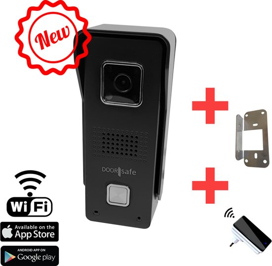 Deurbel Voor Iphone.Bol Com Camera Deurbel Via Internet Wifi Of Wlan Met Iphone Of
