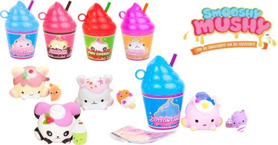 Afbeelding van Smooshy Mushy Frozen delight - Serie 2 - 1 squishy per flesje speelgoed
