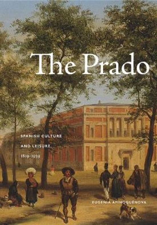 Boek cover The Prado van Eugenia Afinoguénova (Paperback)
