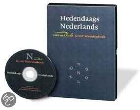 Van Dale groot woordenboek hedendaags Nederlands 2.0