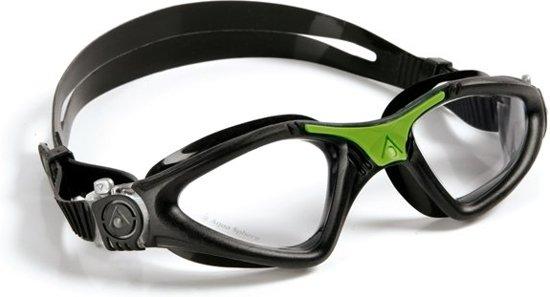 Aqua Sphere Kayenne - Zwembril - Clear Lens - Zwart/Groen