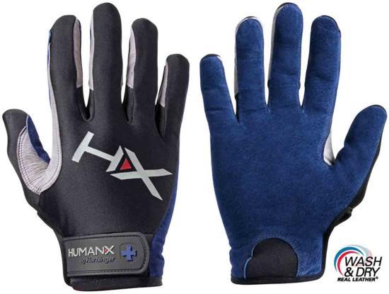 2013a279685 Harbinger - Men's X3 Pro Competition Crossfit - Fitness Handschoenen - M -  Blauw/Grijs