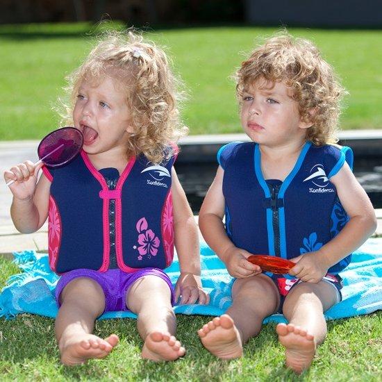 Konfidence - Zwemvest/Drijfvest kind - Roze - 1,5-3 jaar / 12-20 kg