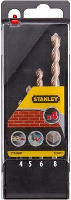 Stanley borenset - 4 stuks