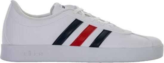 adidas schoenen wit blauw rood