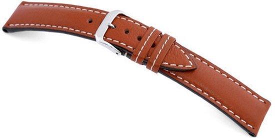 Rios1931 Horlogeband -  Montana Cognac - Leer - 20 mm