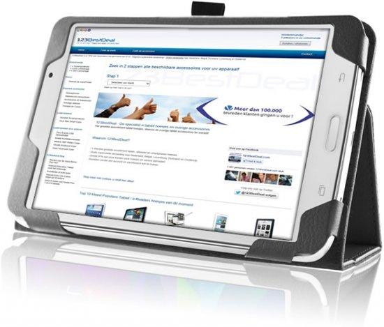 Book Case met Stand voor Samsung Galaxy Tab 4 7.0 in Wanne